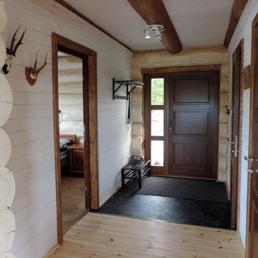Stort feriehus, hytte, sommarhus att boka/hyra nära Kungsbygget Skistar Resort Vallåsen utanför Laholm