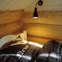 Säng i fyrbäddsrummet