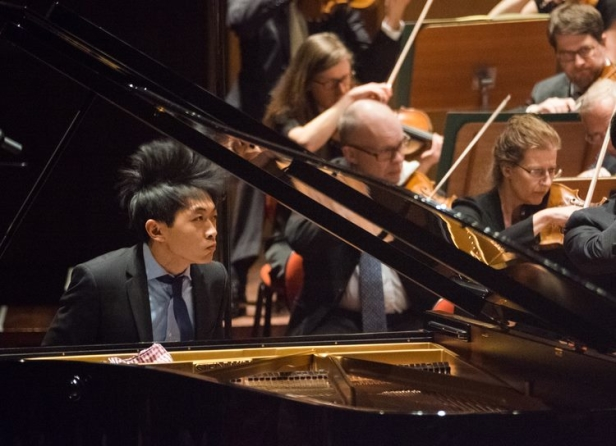 Pianotrio med David Huang mm