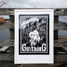 Göteborg - Print 50x70