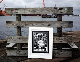 Göteborg - Print 30x40 -