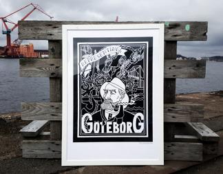 Göteborg - Print 50x70 -