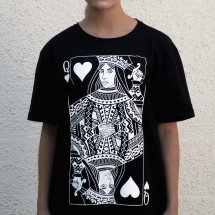 T-shirt: Queen Of Hearts