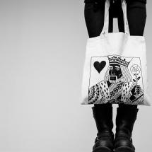 Printed Bag: King Of Hearts