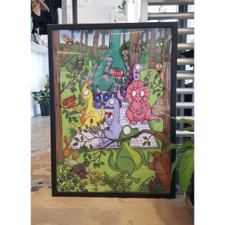 Forest picnic 50x70 -
