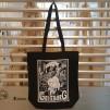 Somenid Totebag: Representing Göteborg - Gbg bag - BLACK