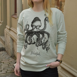 Sweater: Bläskfisk, All-Elin - Sweatshirt S