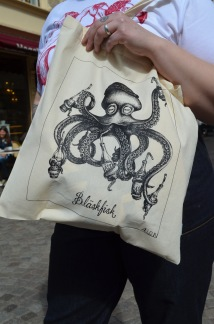 Tote bag - Bläskfisk, All-Elin - Bläskfisk