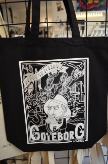 Tote bag - Representing Göteborg - Black - Gbg bag - BLACK