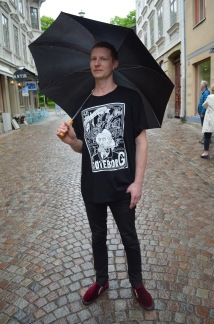 T-shirt: Göteborg Black - T-shirt size S