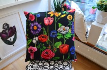 Cushion cover: Wicked Vicious Flowers