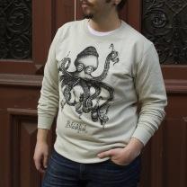 Sweater: Bläskfisk, All-Elin