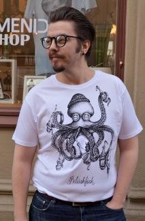 T-shirt: Bläskfisk, All-Elin - T-shirt Bläskfisk S