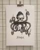 Print A3 - Bläskfisk - A3, 29,7x42 cm