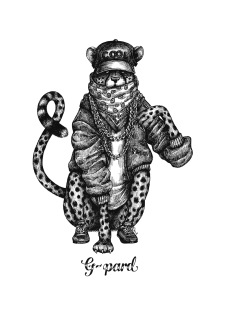 Print A3 - Gpard - A3, 29,7x42 cm