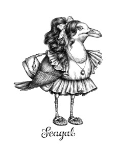 Print A3 - Seagal - A3, 29,7x42 cm