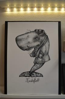 Print: Kaskeflott - A4, 21x29,7 cm