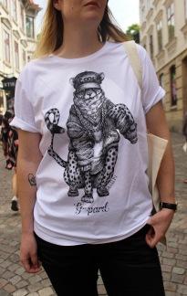 T-shirt: G-pard, All-Elin - Size XS