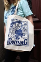Tote bag - Representing Göteborg - Off-white