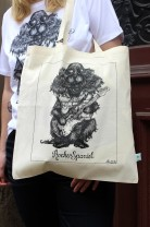 Tote bag - Rocker Spaniel, All-Elin