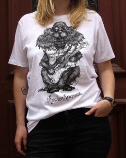 T-shirt: Rocker Spaniel, All-Elin - Rocker Spaniel S