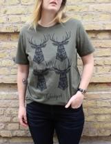 T-shirt: Klonhjort, All-Elin