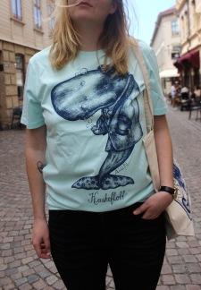 T-shirt: Kaskeflott, All-Elin - Size XS-TURKOS