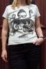 T-shirt: Bläskfisk slim fit, All-Elin