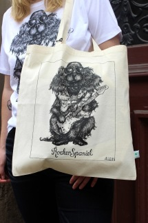 Tote bag - Rocker Spaniel, All-Elin - Rocker Spaniel