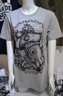 T-shirt: Captain Squidd. All-Elin