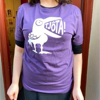 T-shirt: Tjôta, lila, All-Elin - Size XS