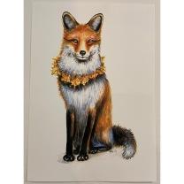 Print: Red Fox A4