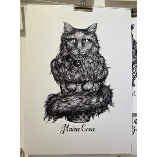 Print - Maine Cone - Maine Cone A4