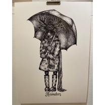Print: Raindeer