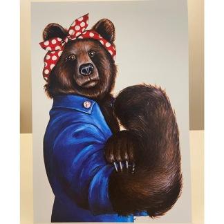 Print: Mama Bear - Print: Mama Bear A4
