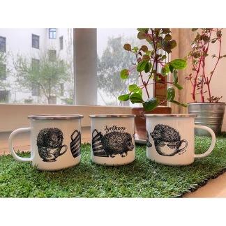 Mug - Igelkopp (enamel) - Mug - Igelkopp (enamel)