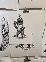 Print: Raccone