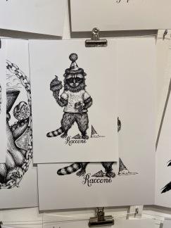 Print: Raccone - Print: Raccone A4