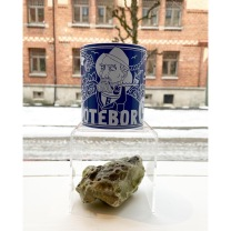 Mug: Representing Göteborg, Blue
