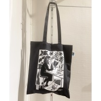 Totebag: The artist