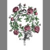 Print: Flowervenus - Kvinnosymbol A3 Färglagd