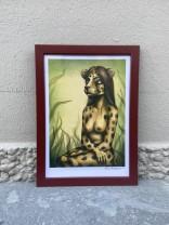 Print Cheetahgirl A4