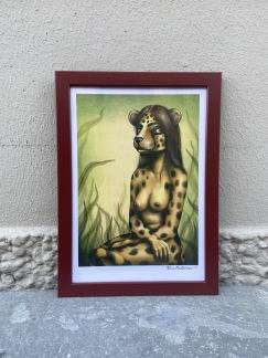 Print Cheetahgirl A4 - Print Cheetahgirl A4