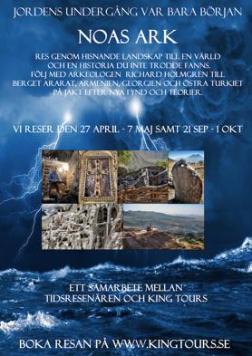 Resa till Bibelns Noa och Ararat
