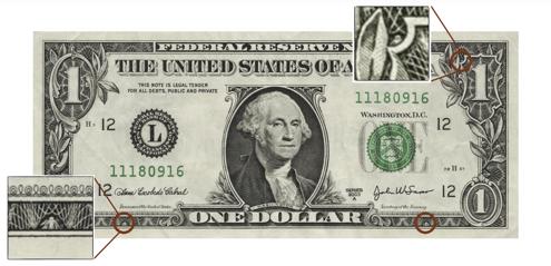 Ugglorna på dollarsedeln