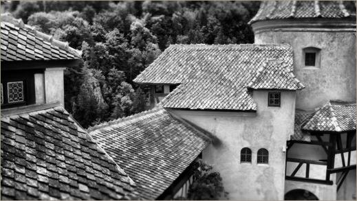 Bran i Transylvanien - en av de borgar som figurerar i berättelserna kring Dracula
