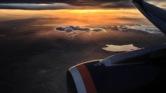 Aeroflot över Aragats