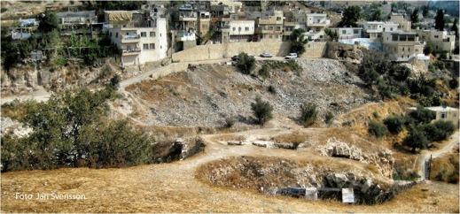 Jerusalem med Blodsåkern i förgrunden