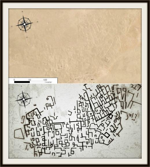Försvunna städer, Google Earth
