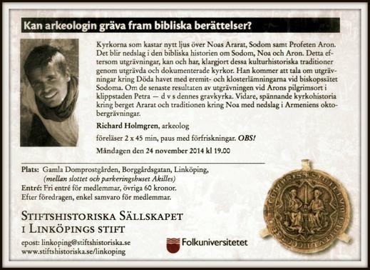 Stiftshistoriska Sällskapet - föreläsning